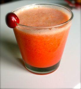 recept för röd detoxjuice