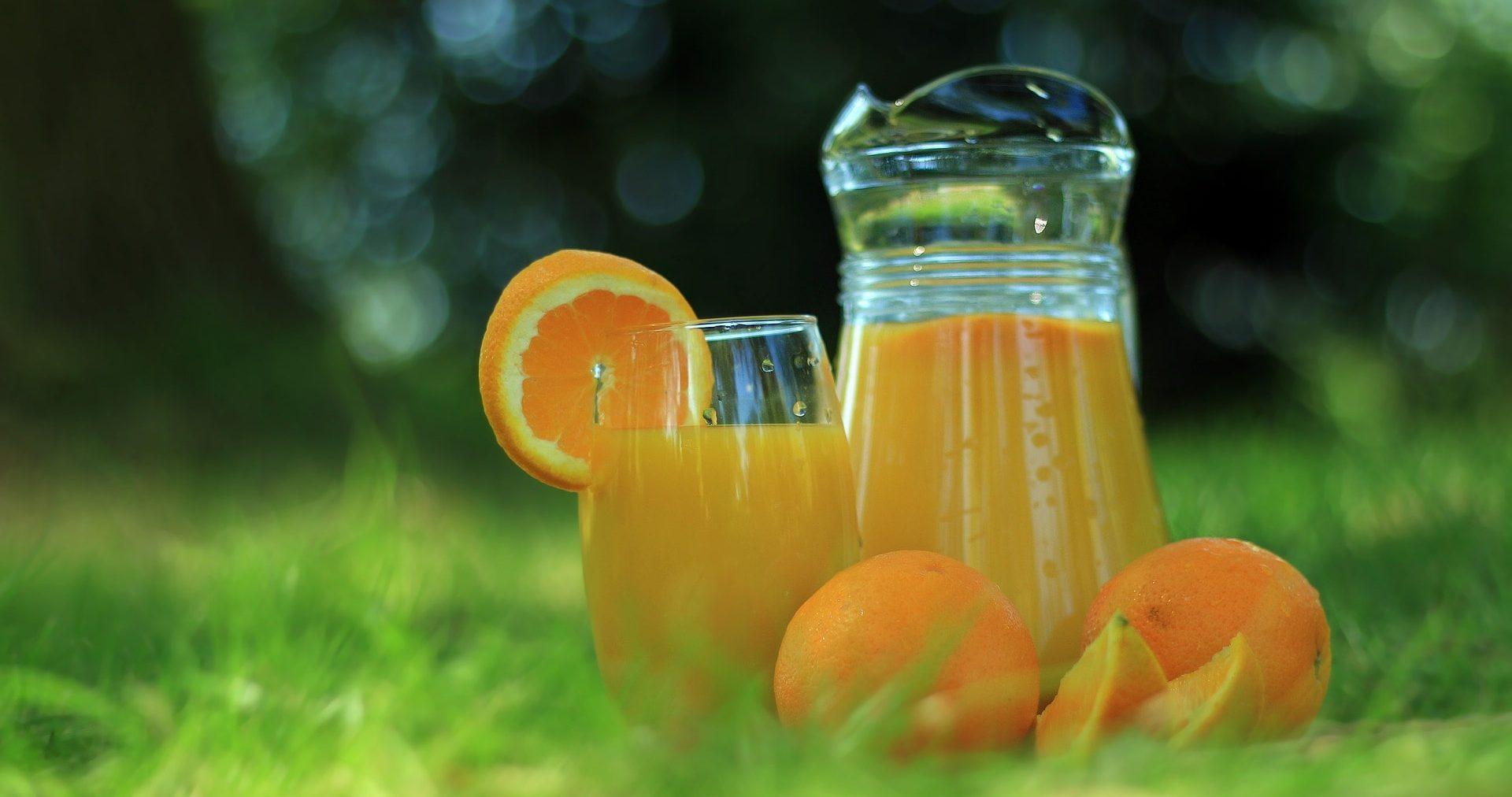 Juice detox med apelsin