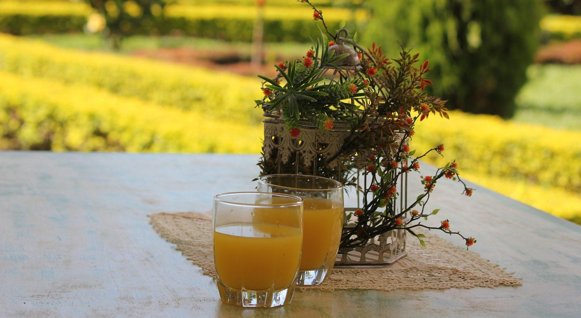 Apelsinjuice för detox