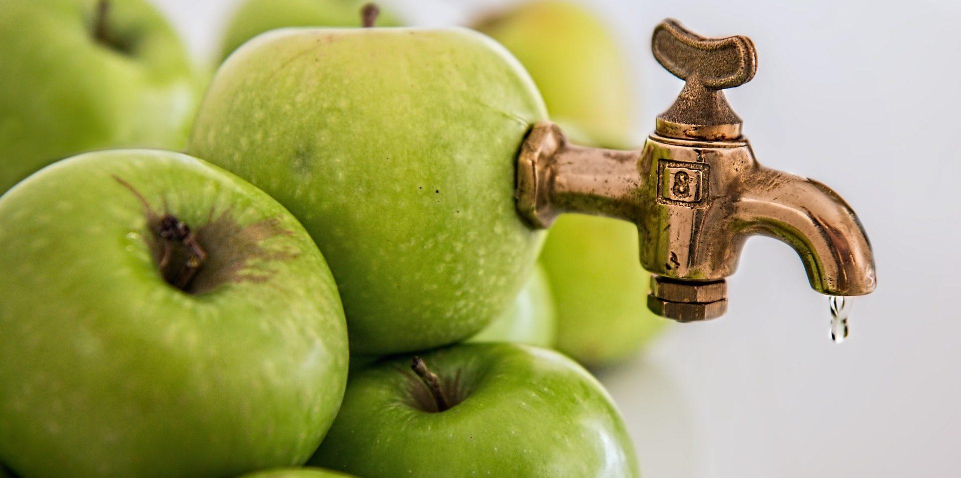 Äppeldetoxjuice